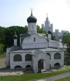 Зачатия Анны церковь что в углу Китайгородской стены в Москве