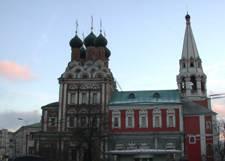Николая Чудотворца церковь на Болвановке в Москве