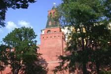 Комендантская (Глухая, Колымажная) башня Московского Кремля
