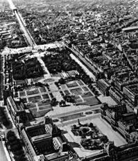 Архитектурные ансамбли главной оси центра Парижа на участке Лувр — площадь де Голя. 16—19 вв. Градостроительство.