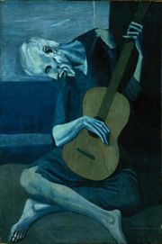Pablo Picasso, The Old Guitarist, (1902)
