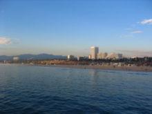 Пляж в Санта-Монике