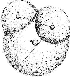 Строение молекулы воды