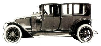 Для своего времени большой автомобиль Renault 40 CV Type DT имел очень необычную внешность.