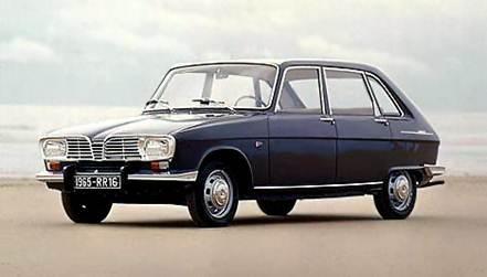 Переднеприводная модель Renault 16 во многом определила формы современных автомобилей с кузовом хэтчбэк.