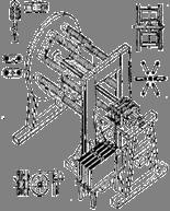 Рис. 2. Первый пригодный для практического применения электрический двигатель (по мемуару