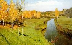 Левитан - Золотая осень