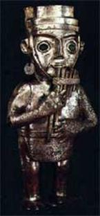 музыкант с флейтой