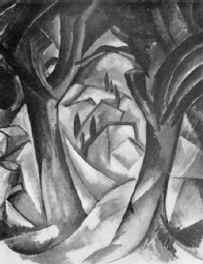 Жорж Брак. Пейзаж (Эстак). 1908. Х., м.